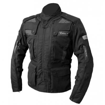 Textilná bunda Seca Strada IV, čierna