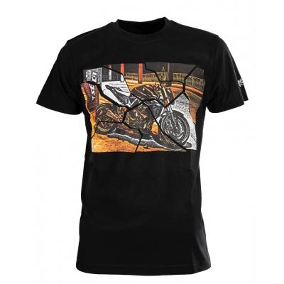 Pánske tričko SECA Bridge black, čierne