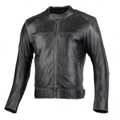 Kožená bunda Seca Aviator II Vintage, čierna
