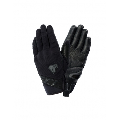 Kožené rukavice SECA X-STRECH, čierne