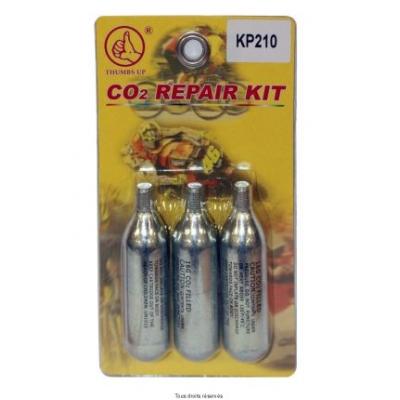 Sada na opravu defektu -náhradné bombičky CO2