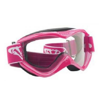 Okuliare na motorku V-MAX - ružové
