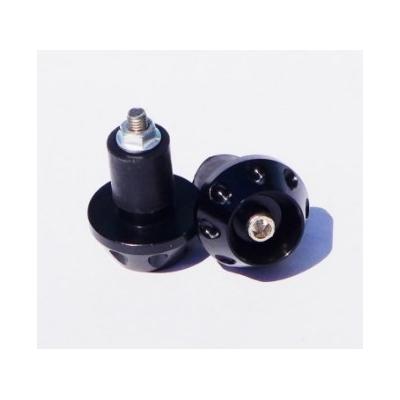Koncovky riadítok - čierne 18-20mm