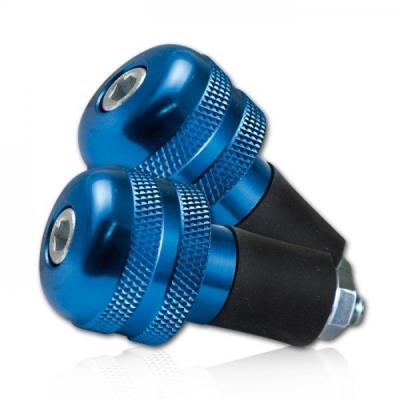 Koncovky riadítok - modré 13-17mm