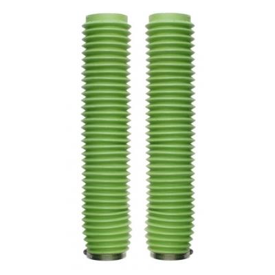Manžety predných tlmičov 43/59mm, dĺžka 370mm - zelené