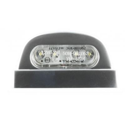 Osvetlenie ŠPZ 4LED 45mm strieborné