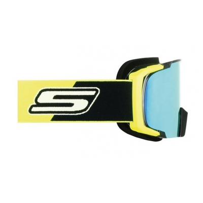 Okuliare S-Line - žlto/čierne zlaté iridiové sklo