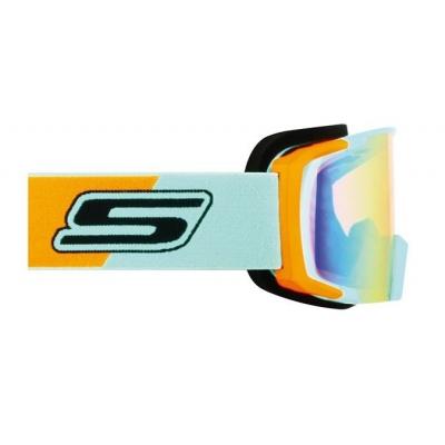 Okuliare S-Line - modro/oranžové - oranžové iridiové sklo