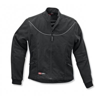 Fleecová bunda SIFAM do dažďa, dámska, čierna