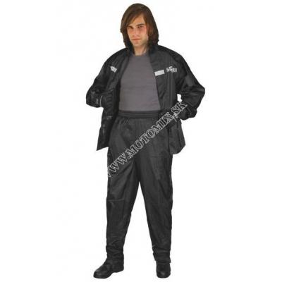 Nohavice SQ do dažďa - čierne - veľkosť S