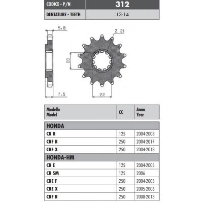 Kolečko Sunstar 312 13z.