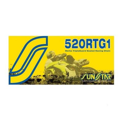 Reťaz SUNSTAR 520RTG1 126čl zlatá
