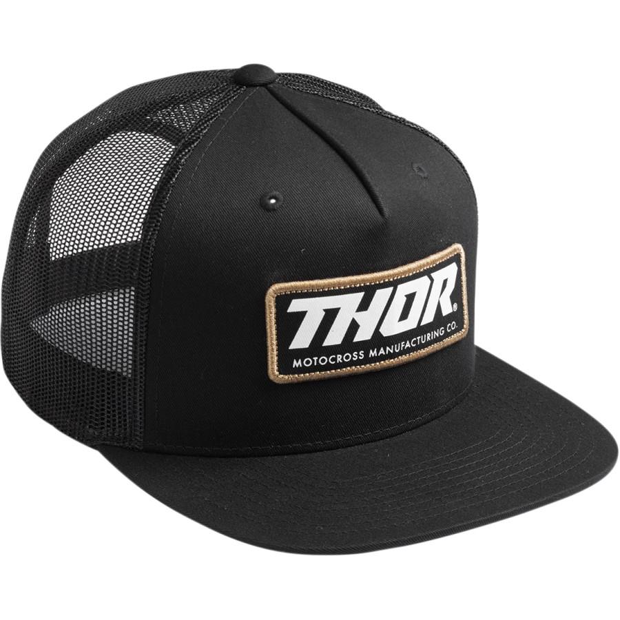 206d33904 Šiltovka Thor 2019 Standard trucker - čierna | MOTOMIX