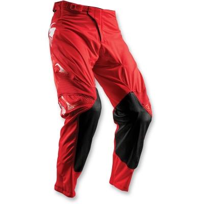 Nohavice Thor Prime Fit Rohl 2018 čierno-červené, na motorku