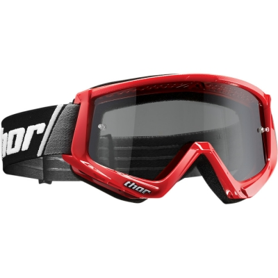 Okuliare Thor 2019 Combat Sand červené, na motorku