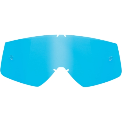 Sklo na okuliare Thor modré, na motorku