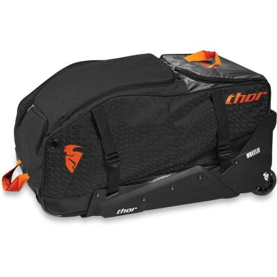 Taška na kolieskach Thor Transit čierno-oranžová