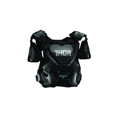 Dámsky chránič hrude Thor Guardian čierno-sivý, na motorku