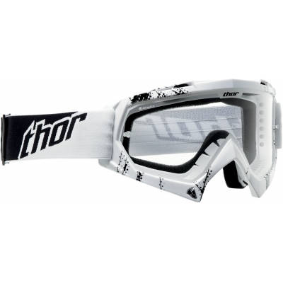 Detské okuliare Thor 2019 Enemy Web biele, na motorku