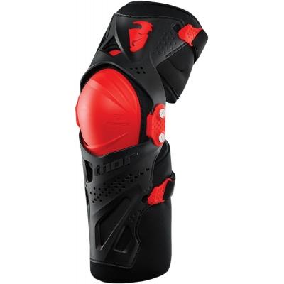 Chránič kolien Thor Force XP červený, na motorku