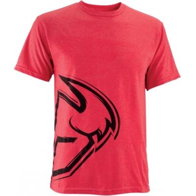 Tričko Thor Split pánske červené