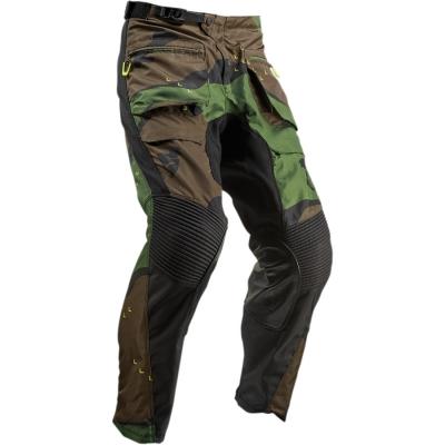 Nohavice THOR 2019 - Terrain, do čižmy - camo zelené