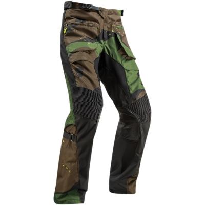 Nohavice THOR 2019 - Terrain, na čižmu - camo zelené