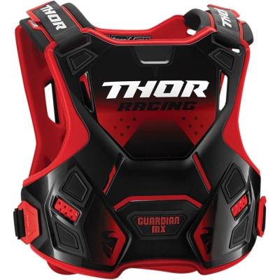 Chránič hrude Thor 2019 Guardian MX - červeno čierný