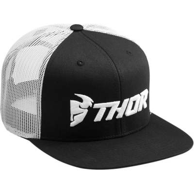 Šiltovka Thor 2019 Trucker snapback - čierno biela