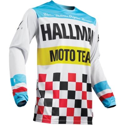 Dres THOR 2019 - Hallman heater - bielo modrý