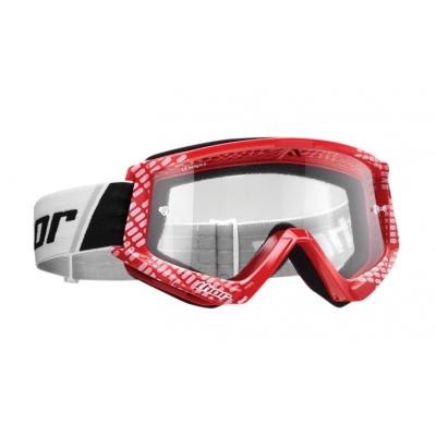 Okuliare Thor Combat Youth 2021 detské - červeno biele