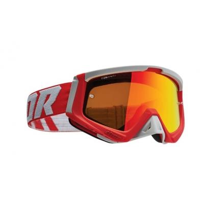 Okuliare Thor Sniper 22 - červeno sivé