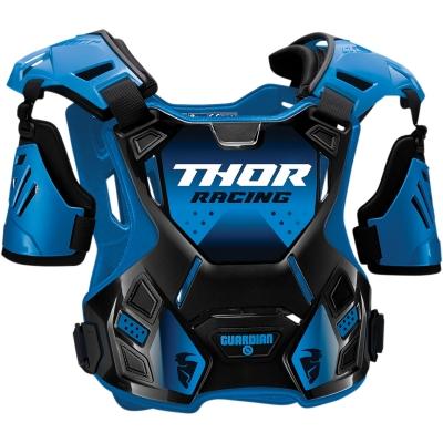 Detský chránič hrude Thor Guardian 2021, čierno-modrý