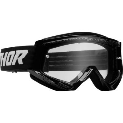 Okuliare Thor Combat 22 - čierno biele