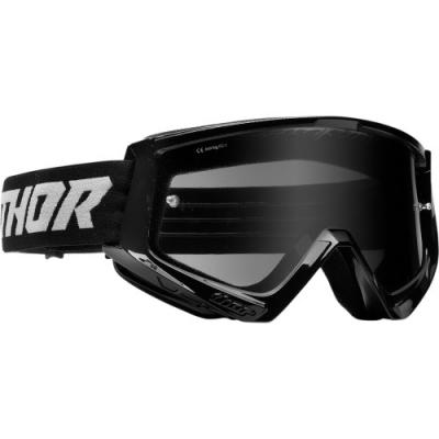 Okuliare Thor Combat Sand 22- čierne