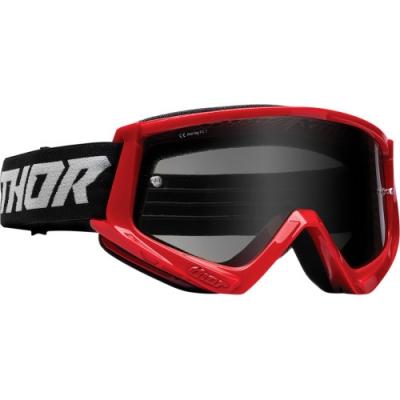 Okuliare Thor Combat Sand 22- červeno- čierne