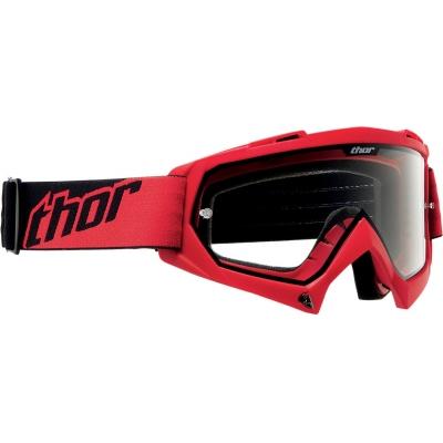 Detské okuliare Thor 2019 Enemy červené, na motorku
