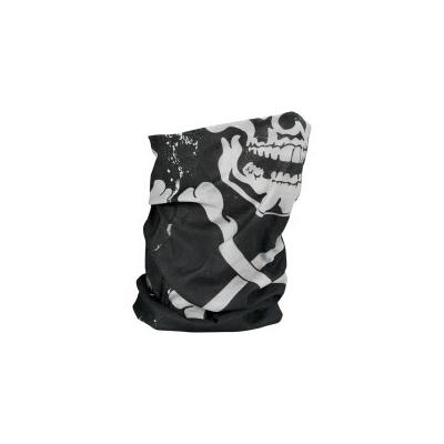 Šatka Motley Tube lined skull-x