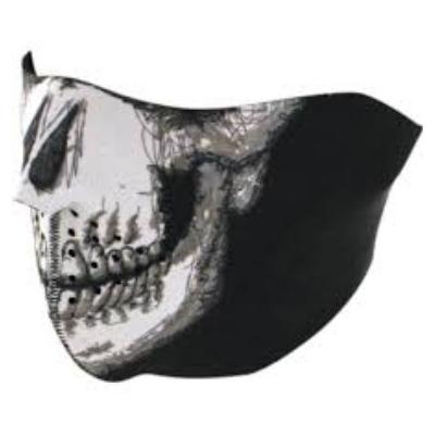 Maska Zan Skull - polovičná