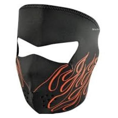 Maska Zan flames