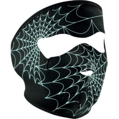Maska Zan spider web