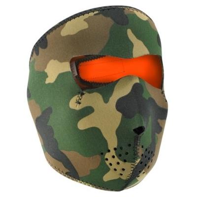 Maska Zan woodland camo