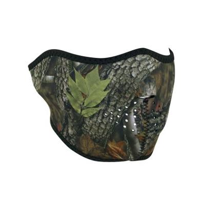 Maska Zan forest camo - polovičná
