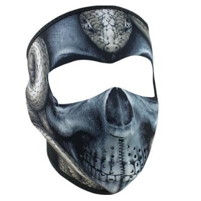 Maska Zan snake skull