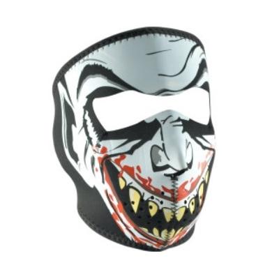 Maska Zan vampire - fluoreskujúca v tme